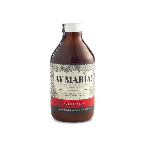 Ay María! Salsa Picante Artesanal - Fuego Alto 250 ml
