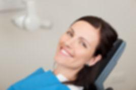 Calm, happy patient