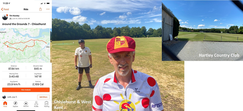 Tim's cycling journey | Mail Master | Email Organisation Southeast