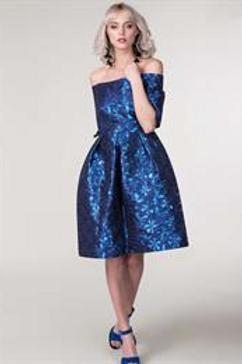 Bardot 3/4 Sleeve Dress