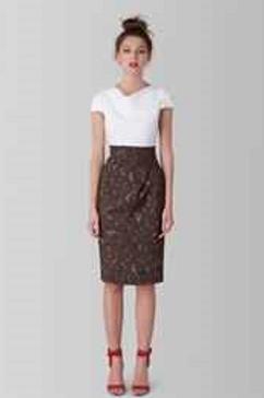 Contrast Camo Draped Dress