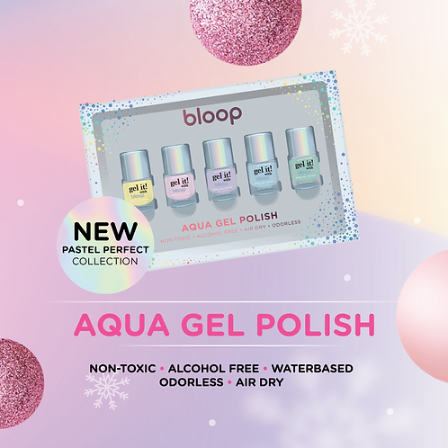bloop Aqua Gel Pastel Perfect Set