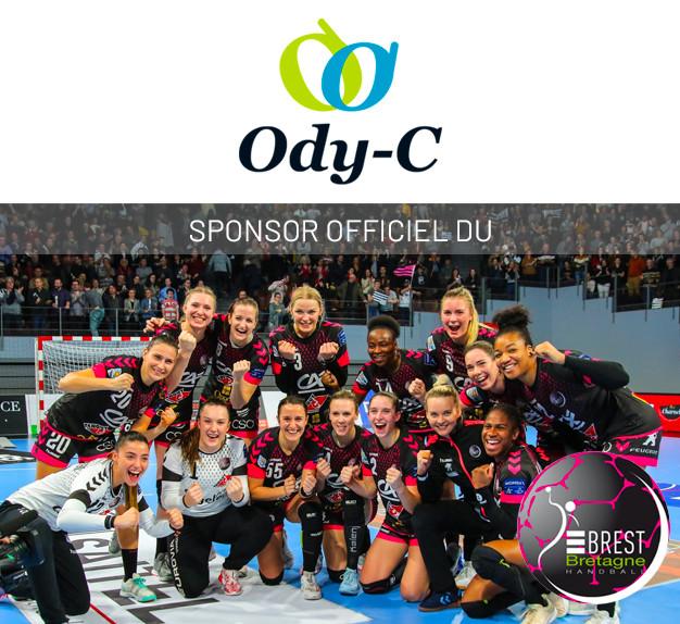Ody-C supporte le Brest Bretagne Handball