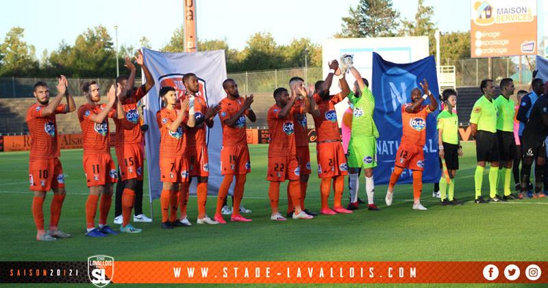 L'équipe du Stade Lavallois