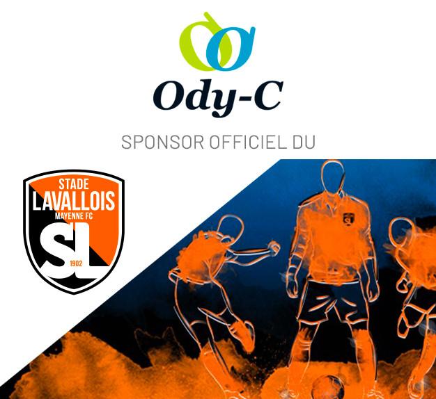 Ody-C sponsor du Stade Lavallois