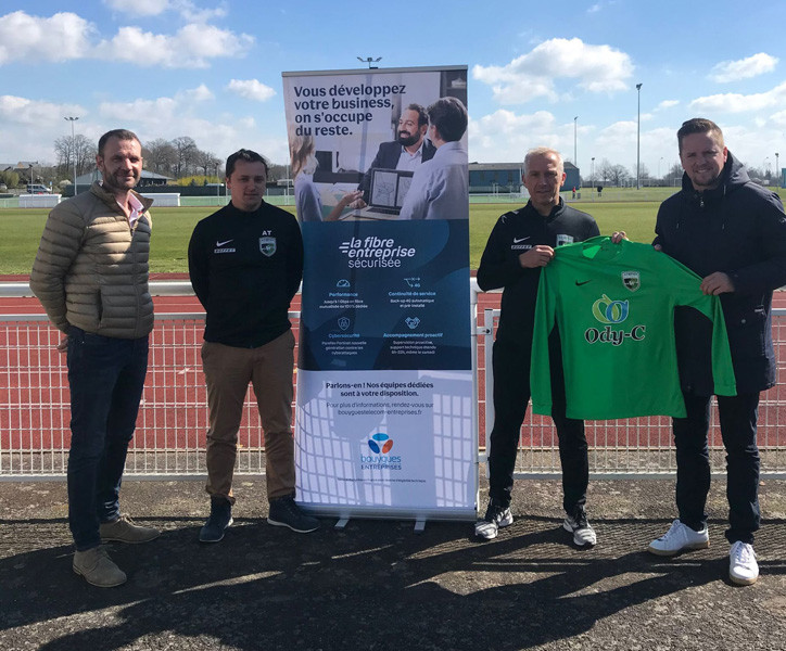Ody-C sponsor de l'Union Sportive Saint-Berthevin Football