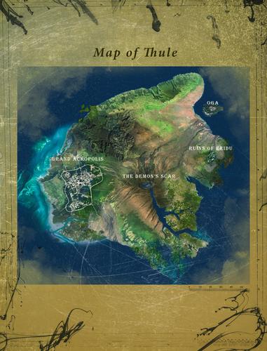 Map of Thule
