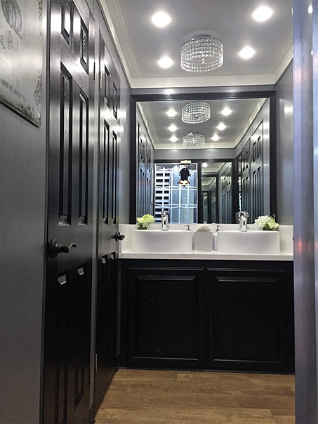 Luxury Portable Restrooms Portable Restroom Trailers Septic Pumping