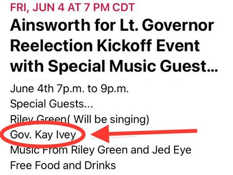 Looks Like Kay Ivey Is Running Again