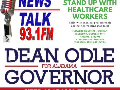 Montgomery Radio Interview & Dothan Rally 10-14-2021