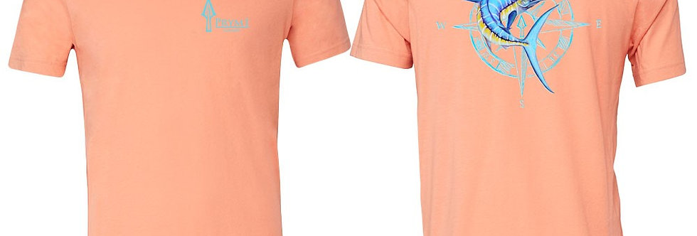Blue Marlin Compass T - Peach