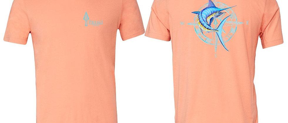 Blue Marlin Compass T - Peach