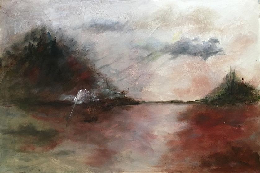 Feather, landscape