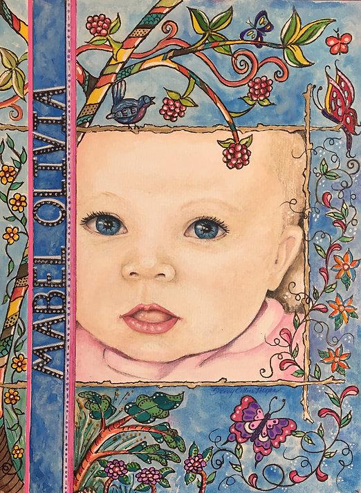 Child's Portrait,