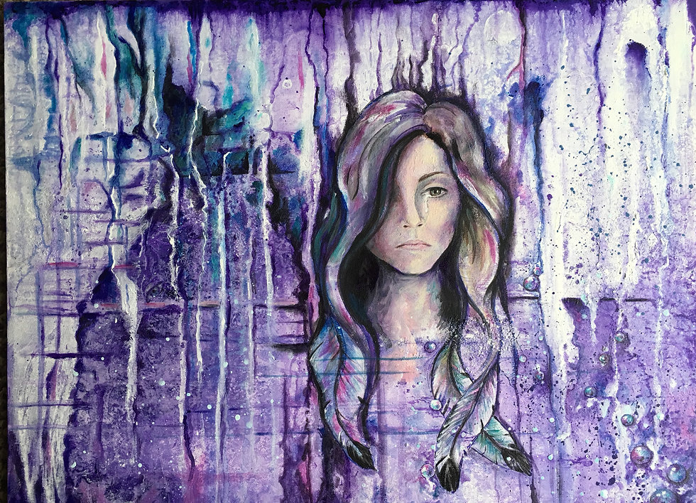 Figurative Abstract, Woman