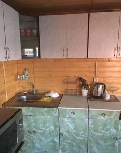 кухонная рабочая зона(раковина, микровол