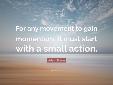 Movement matters in the New Year