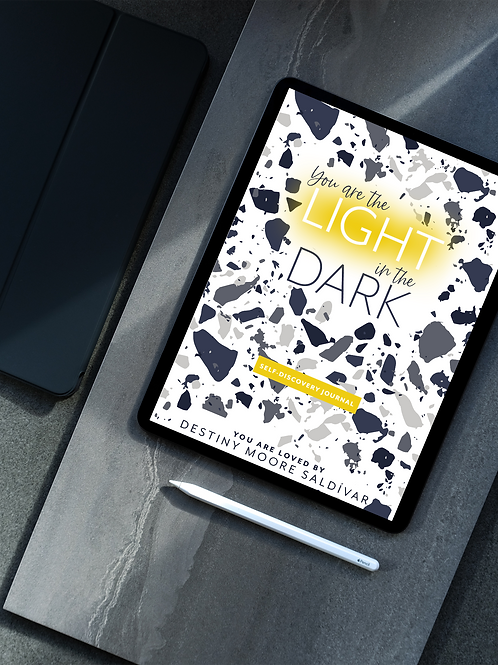 You Are the Light in the Dark: Self-DiscoveryJournal (Print-Ready File)