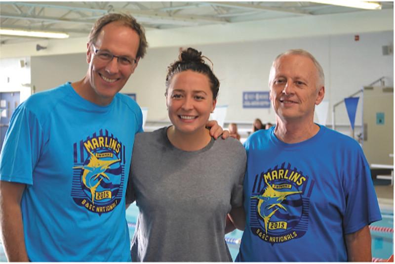 Bobby Hackett USA Swimming Olympics Freestyle Harvard