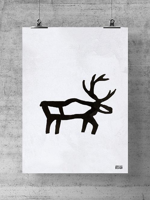 """Print """"Reindeer"""""""