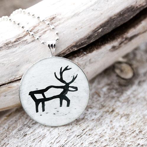 "Halsband ""Reindeer"" (Snow)"