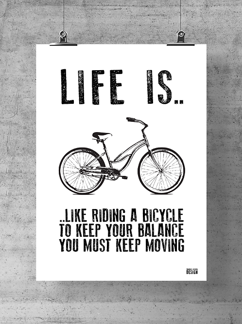 "Print ""Life is"""