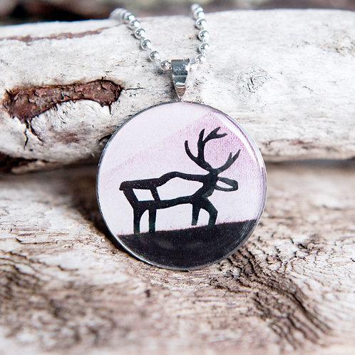 "Halsband ""Reindeer"" (Rose)"