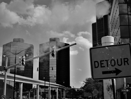 Life happens in the detours