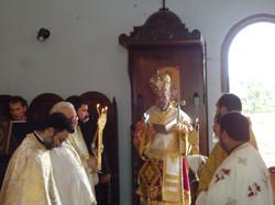 Visita de Dom Tarásios 11/2012