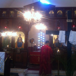Visita do padre Paulo Tamanini
