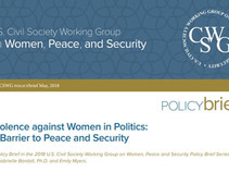 Violence against Women in Politics: A Barrier to Peace and Security