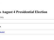 Congressional Research Service (CSR) Insight Rwanda's August 4 Presidential Election
