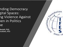 Defending Democracy in Digital Spaces: Ending Violence Against Women in Politics Online