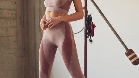 Space Dye Seamless Bra and Legging Set