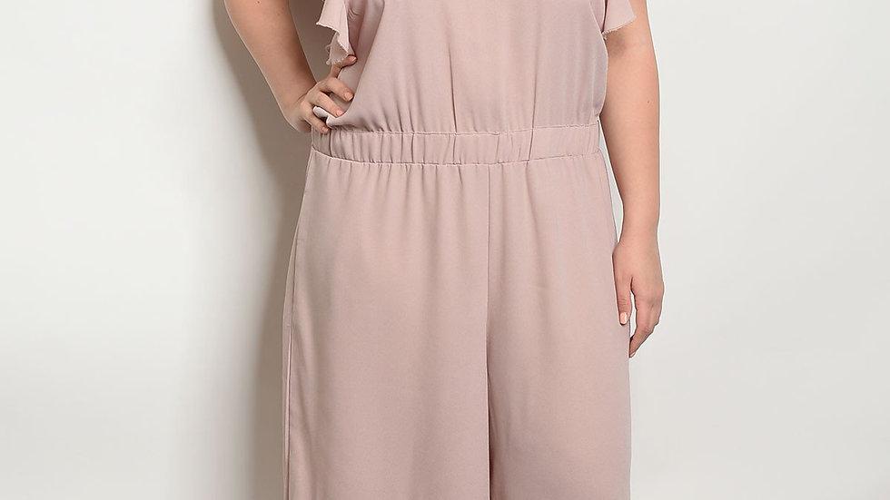 Blush Plus Size Jumpsuit