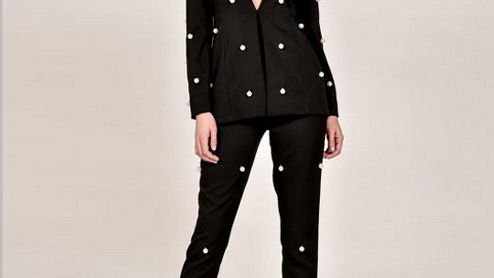Black Two Piece Jumpsuit