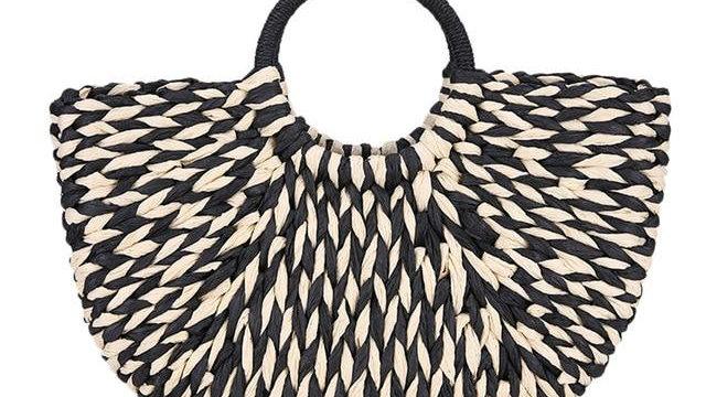 Rattan Straw Bag