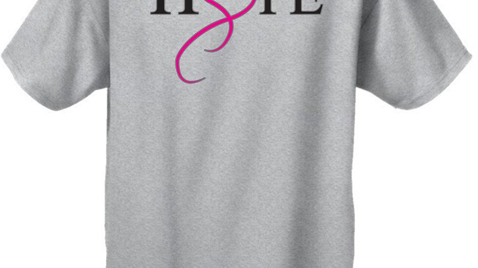 Unisex Hope & Love Breast Cancer Awareness  T-Shirt