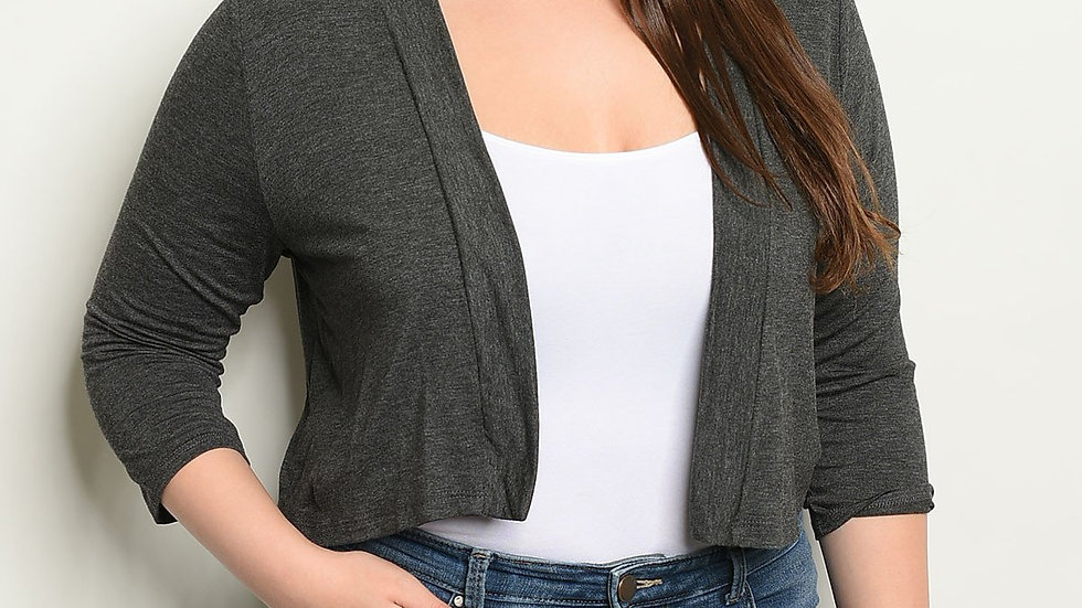 Womens Plus Size Cardigan