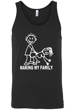 Men's Making My Familiy Tank Top Shirt