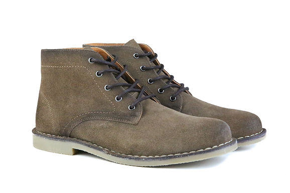 The Grover   Burnished Tobacco Suede