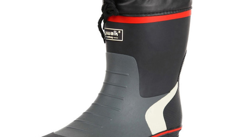 Man Rain Boots Heels Shoes Man Rain Shoes