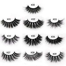 aliexpress Eyelashes Wholesale 20/40/50/100pcs 6D Mink Lashes Bulk Makeup Whole