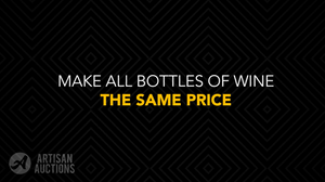 make all wall of wine bottle the same price