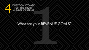silent auctions what are your revenue goals