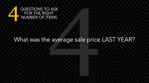 silent auctions what was the average sale price last year
