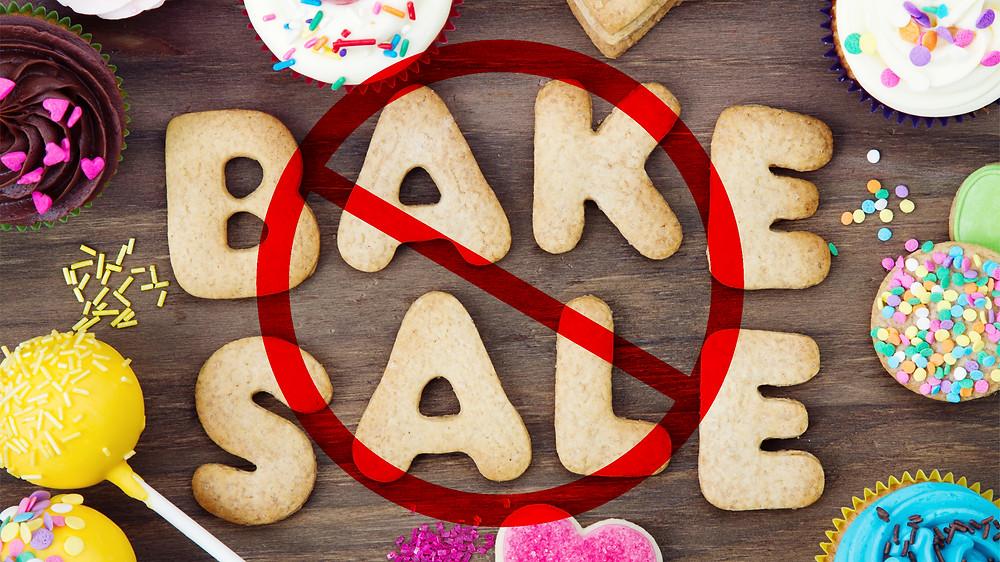 bye bye bake sales
