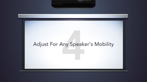 videos let you adjust for any speaker's mobility