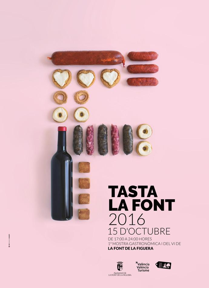 Cartell Tasta la Font 2016