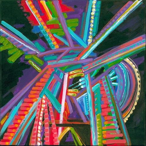 Riding The Ferris Wheel